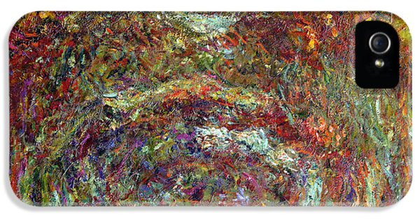 The Rose Path Giverny IPhone 5 Case by Claude Monet