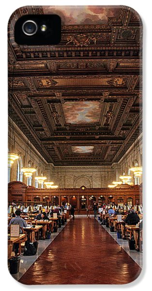 IPhone 5 Case featuring the photograph The Rose Reading Room II by Jessica Jenney