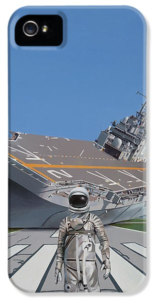 Science Fiction iPhone 5 Case - The Runway by Scott Listfield