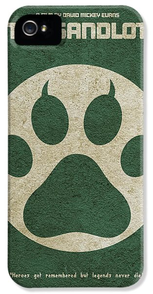 The Sandlot Alternative Minimalist Movie Poster IPhone 5 Case