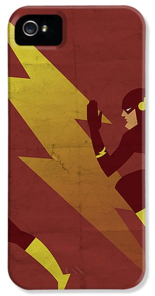 Weather iPhone 5 Case - The Scarlet Speedster by Michael Myers