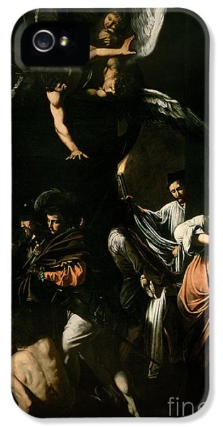 The Seven Works Of Mercy IPhone 5 Case by Caravaggio