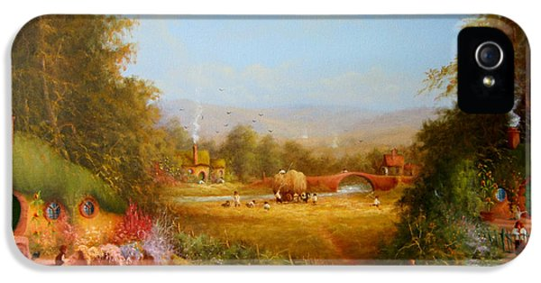 The Shire. IPhone 5 Case by Joe  Gilronan