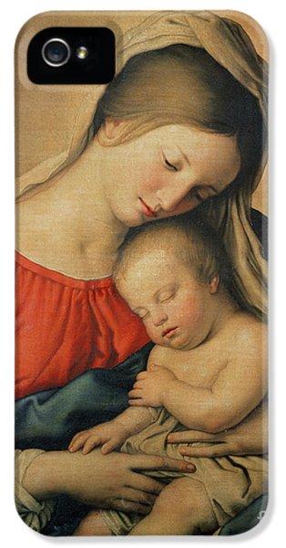 The Sleeping Christ Child IPhone 5 Case by Il Sassoferrato