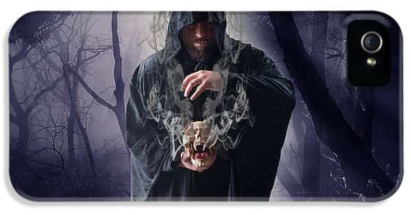 Wizard iPhone 5 Case - The Sounds Of Silence by Smart Aviation