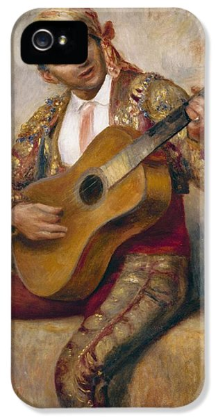 The Spanish Guitarist IPhone 5 Case