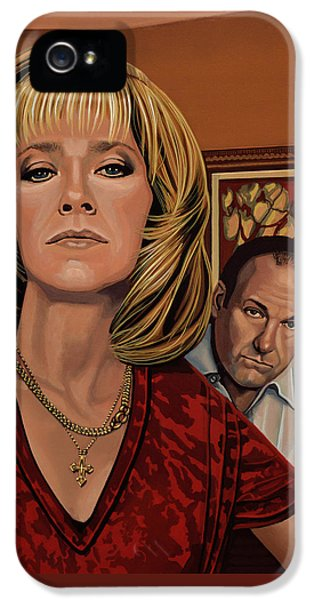 The Sopranos Painting IPhone 5 Case