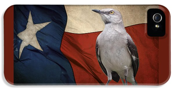 Mockingbird iPhone 5 Case - The State Bird Of Texas by David and Carol Kelly