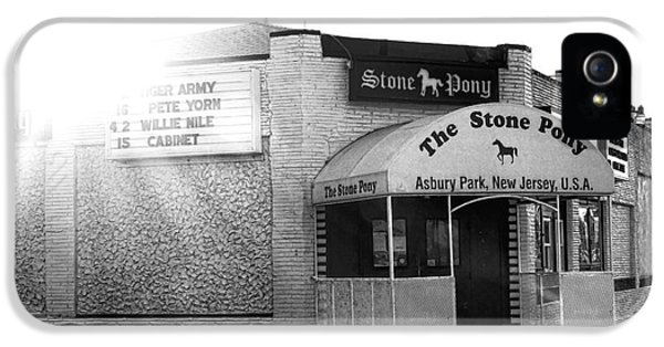 The Stone Pony  IPhone 5 Case by Olivier Le Queinec