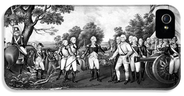 The Surrender Of General Burgoyne IPhone 5 Case by War Is Hell Store