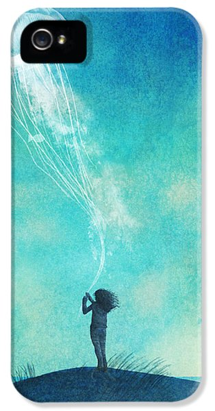 Weather iPhone 5 Case - The Thing About Jellyfish by Eric Fan