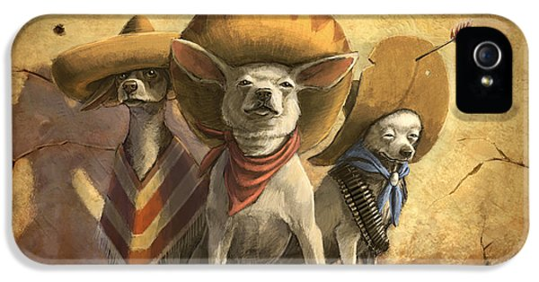 The Three Banditos IPhone 5 Case by Sean ODaniels