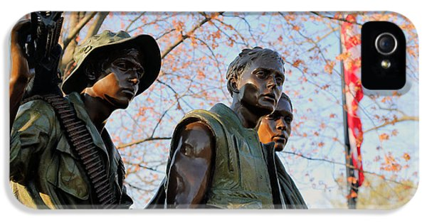 The Three Soldiers IPhone 5 Case