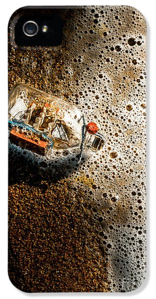 The Tide And Its Takers IPhone 5 / 5s Case by Jorgo Photography - Wall Art Gallery