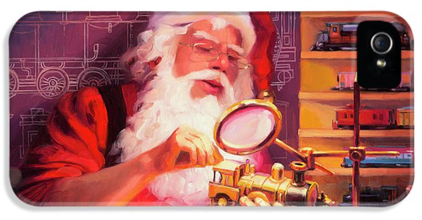 Elf iPhone 5 Case - The Trainmaster by Steve Henderson