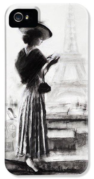 Eiffel Tower iPhone 5 Case - The Traveler by Steve Henderson