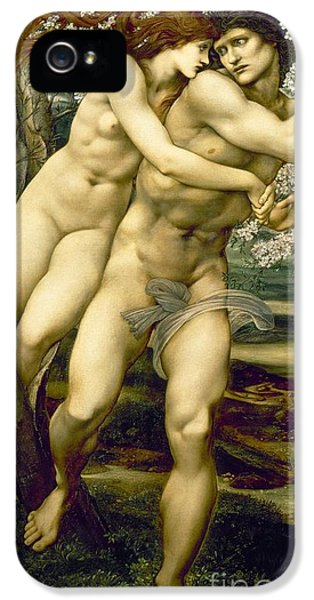 The Tree Of Forgiveness IPhone 5 Case by Sir Edward Burne-Jones