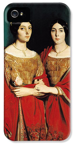 The Two Sisters IPhone 5 Case by Theodore Chasseriau