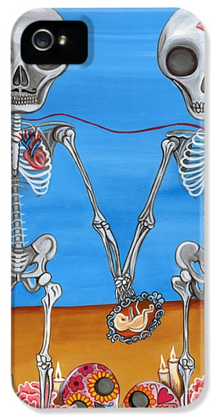 The Two Skeletons IPhone 5 Case