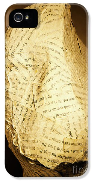 The Unfinished Story IPhone 5 Case by Jorgo Photography - Wall Art Gallery