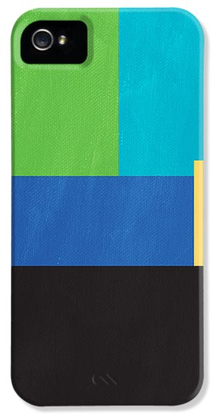 iPhone 5 Case - The View From Here- Modern Abstract by Linda Woods
