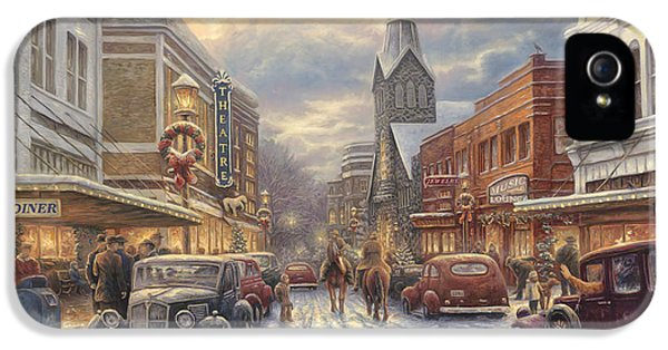 The Warmth Of Small Town Living IPhone 5 Case