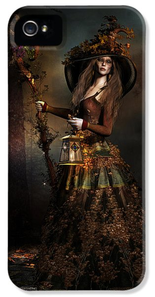 The Wood Witch IPhone 5 Case