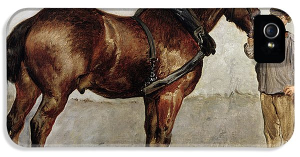 The Work Horse IPhone 5 Case by Otto Bache