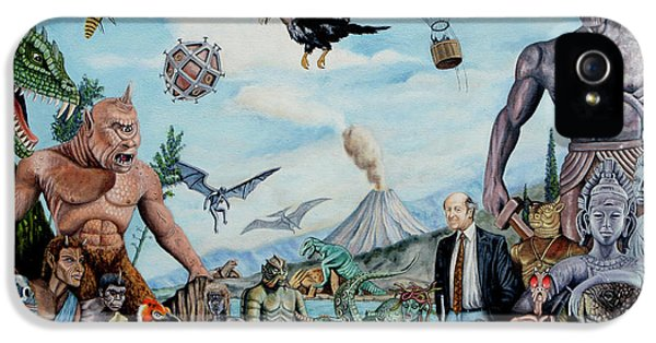 Pegasus iPhone 5 Case - The World Of Ray Harryhausen by Tony Banos