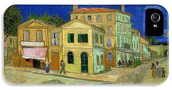 The Yellow House IPhone 5 Case by Vincent Van Gogh