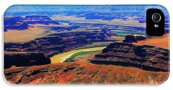 Thelma And Louise Point IPhone 5 Case by Barkley Simpson