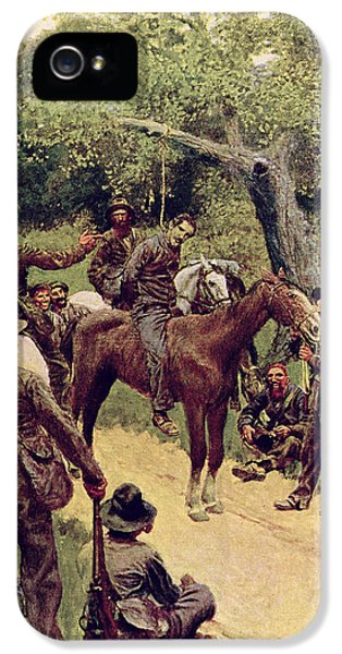 They Talked It Over With Me Sitting On The Horse IPhone 5 Case