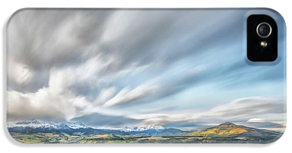 iPhone 5 Case - This Photograph Was Taken At A Meadow by Jon Glaser
