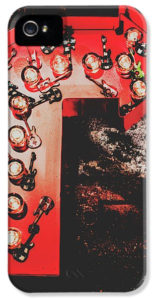 Rock And Roll iPhone 5 Case - This Way To Rock City by Jorgo Photography - Wall Art Gallery