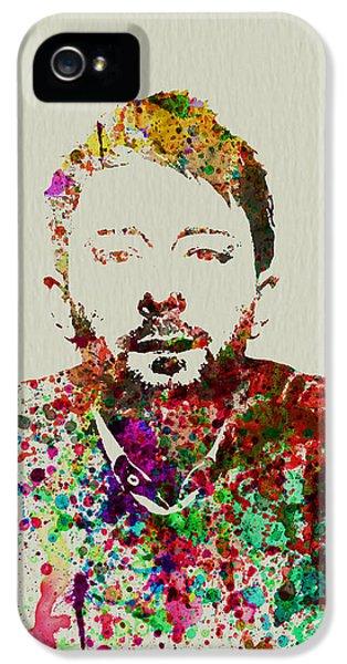 Thom Yorke IPhone 5 Case by Naxart Studio