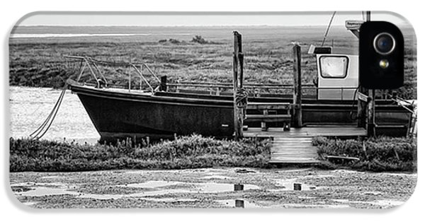 iPhone 5 Case - Thornham Harbour, North Norfolk by John Edwards