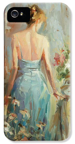 Impressionism iPhone 5 Case - Thoughtful by Steve Henderson