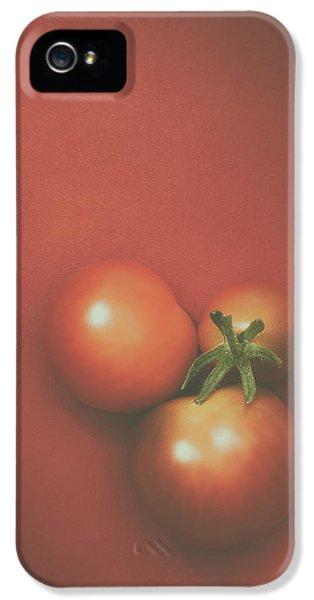Three Cherry Tomatoes IPhone 5 Case by Scott Norris