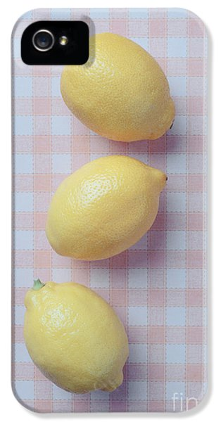 Three Lemons IPhone 5 Case by Edward Fielding