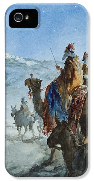 Three Wise Men IPhone 5 Case by Henry Collier
