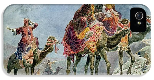 Three Wise Men IPhone 5 Case by Sydney Goodwin