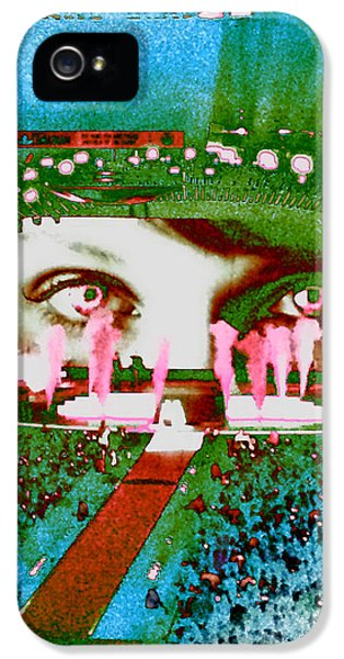 Through The Eyes Of Taylor IPhone 5 / 5s Case by Kim Peto