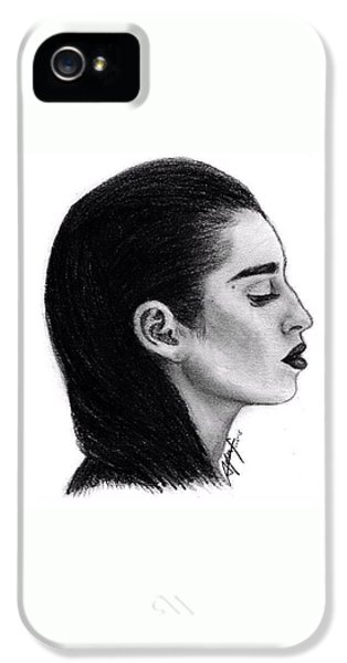 Lauren Jauregui Drawing By Sofia Furniel IPhone 5 Case