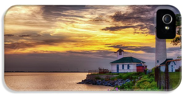 Tibbets Point Sunset IPhone 5 Case