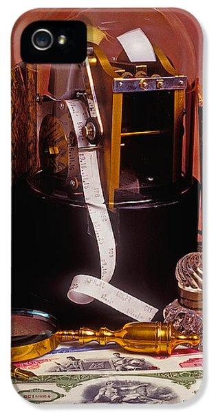 Ticker Tape Machine IPhone 5 Case