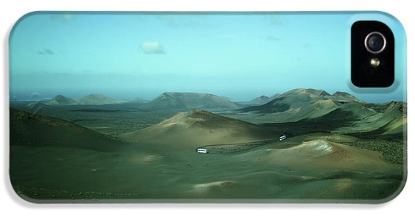 Canary iPhone 5 Case - Timanfaya - Lanzarote by Cambion Art