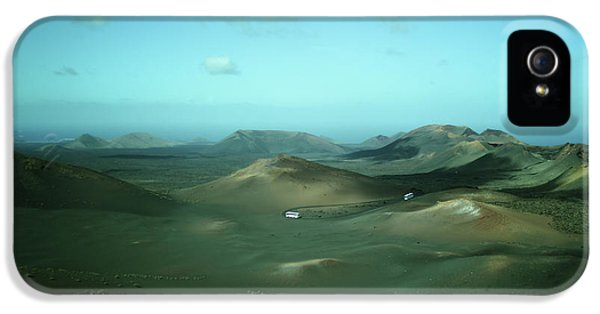 Timanfaya - Lanzarote IPhone 5 Case by Cambion Art