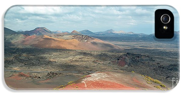 Canary iPhone 5 Case - Timanfaya Panorama by Delphimages Photo Creations