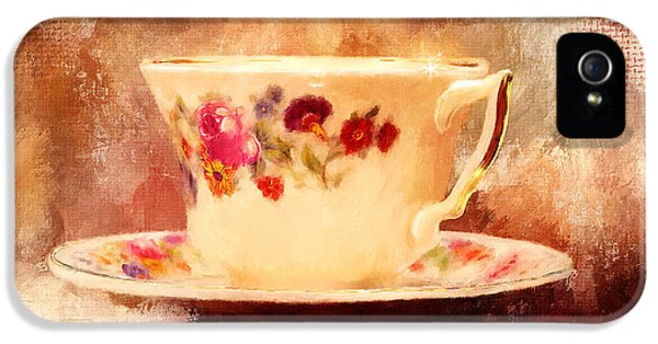 Time For Tea IPhone 5 Case by Lois Bryan