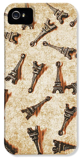 French iPhone 5 Case - Time Worn Trinkets From Vintage Paris by Jorgo Photography - Wall Art Gallery